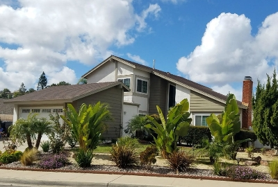 Single Family Home For Sale: 18058 Valladares Dr.