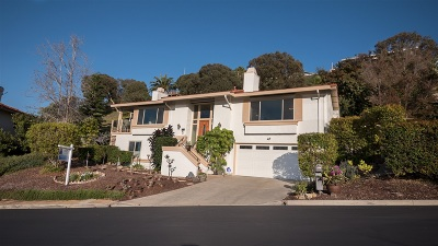 San Diego Single Family Home For Sale: 6173 Caminito Pan