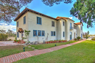 Mission Hills Single Family Home For Sale: 4499 Hermosa Way