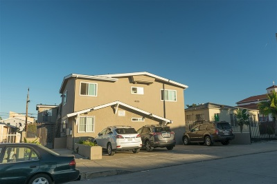 San Diego Multi Family 5+ Back On Market: 4133 48th St.