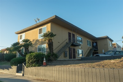 San Diego Multi Family 5+ Back On Market: 4270 Myrtle Ave