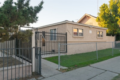 San Diego Multi Family 5+ Back On Market: 3874 41st St.