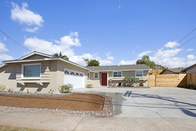 San Diego CA Single Family Home For Sale: $687,000