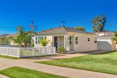 Pacific Beach, Mission Beach Single Family Home For Sale: 1524 Oliver