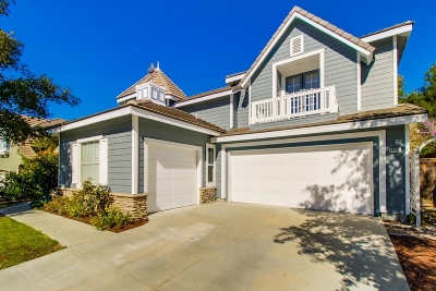 San Marcos Single Family Home For Sale: 1488 Sandbar Dr