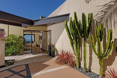 La Jolla Single Family Home For Sale: 2212 Bahia Drive