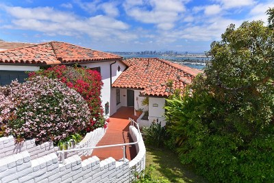 San Diego Single Family Home For Sale: 747 Armada Terrace
