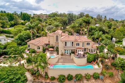 Rancho Santa Fe Single Family Home For Sale: 6039 Calle Camposeco