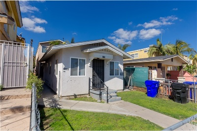 San Diego Multi Family 2-4 For Sale: 4034 46th St