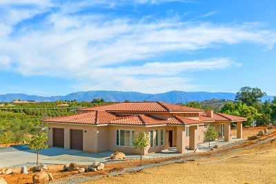Valley Center Single Family Home For Sale: 11589 Old Castle Road