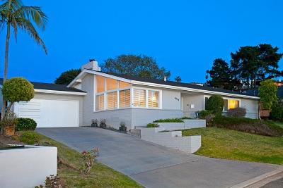 La Jolla Single Family Home For Sale: 6529 Manana