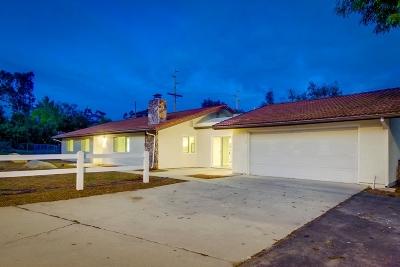 Poway Single Family Home For Sale: 14711 Budwin Ln