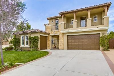 La Costa Oaks Single Family Home Sold: 3428 Corte Altura