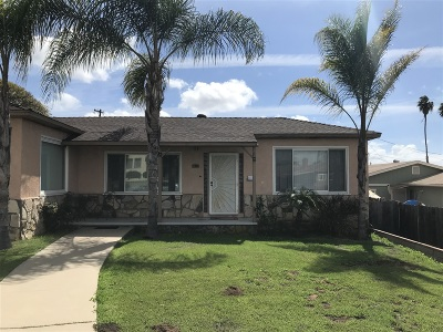Paradise Hills Single Family Home Contingent: 5933 Edgewater St