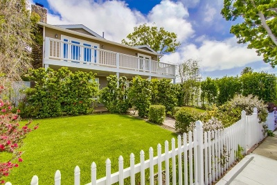 La Jolla Single Family Home For Sale: 1215 Virginia Way