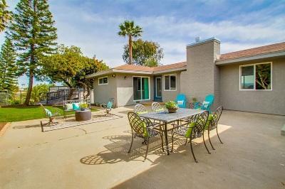 Carlsbad Single Family Home For Sale: 3805 Alder Ave