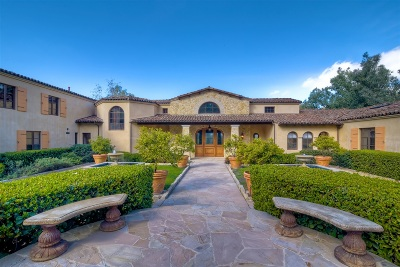 Rancho Santa Fe Single Family Home For Sale: 5168 Linea Del Cielo