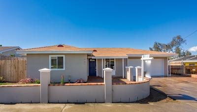 Oceanside Single Family Home For Sale: 567 Gold Dr
