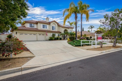 Oceanside Single Family Home For Sale: 5855 Ranch View Rd