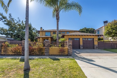 La Jolla Single Family Home For Sale: 5770 Soledad Road
