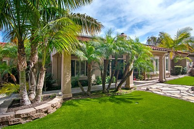 La Jolla Single Family Home For Sale: 2710 Hidden Valley Road