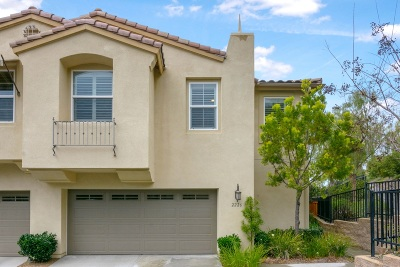 San Marcos Townhouse For Sale: 2226 Granby Way