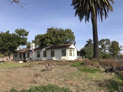 Oceanside Single Family Home For Sale: 2102 S.nevada