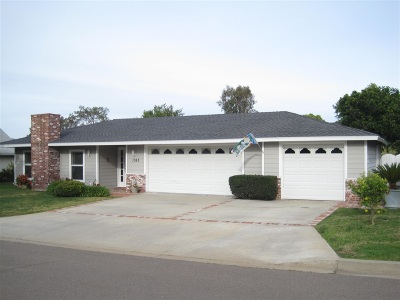 Single Family Home For Sale: 1067 San Pablo Drive
