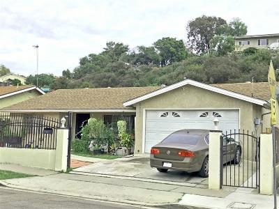 San Diego Single Family Home For Sale: 5242 Auburn Drive
