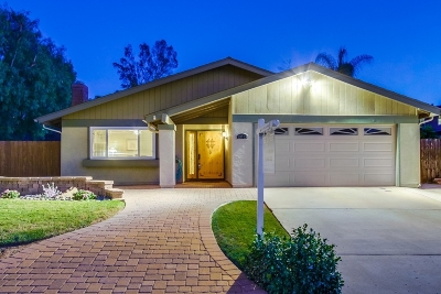 Lakeside CA Single Family Home For Sale: $559,000