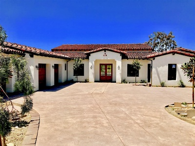 Encinitas Single Family Home For Sale: 3180 Wildflower Summit