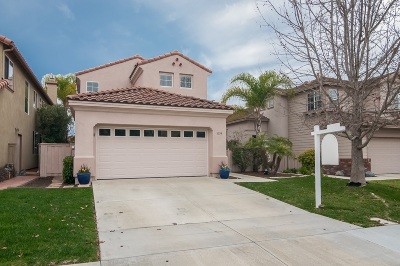 Carlsbad Single Family Home For Sale: 3559 Cay Dr