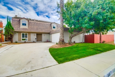 Chula Vista CA Single Family Home For Sale: $609,900