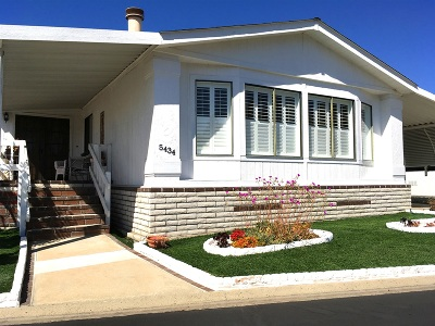 Carlsbad Mobile/Manufactured Sold: 5434 Don Felipe Drive