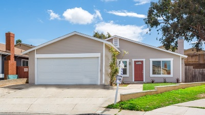San Diego Single Family Home For Sale: 2119 Starburst Ln