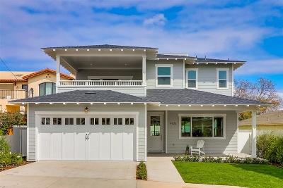 San Diego Single Family Home For Sale: 4925 Emelene St