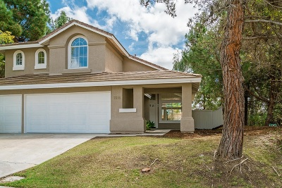 Rancho Pe?asquitos, Rancho Penasquitos, Rancho Penesquitos Single Family Home For Sale: 7605 Pipit Place