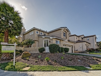 Chula Vista CA Single Family Home For Sale: $585,000