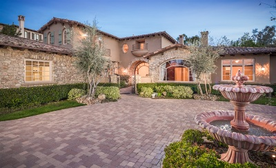 Rancho Santa Fe Single Family Home For Sale: 6641 Calle Ponte Bella