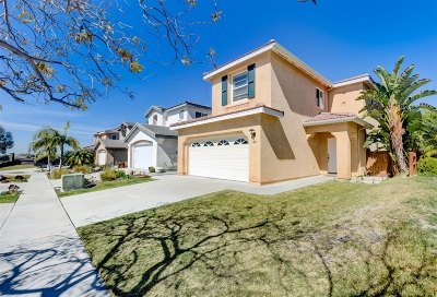 Chula Vista CA Single Family Home For Sale: $629,999