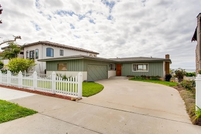 Sunset Cliffs Single Family Home For Sale: 1024 Devonshire Dr