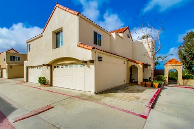 San Diego Townhouse For Sale: 8632 Converse Ave