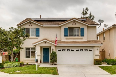 Oceanside Single Family Home For Sale: 309 Spring Canyon Way