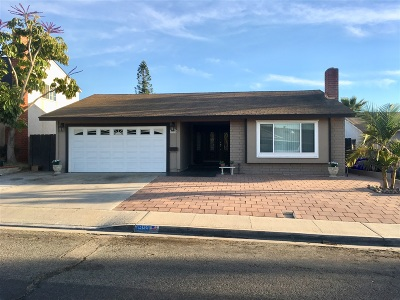 San Diego Single Family Home For Sale: 3955 Coleman