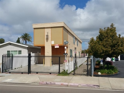 Clairemont Multi Family 2-4 For Sale: 3750 Clairemont Mesa Blvd