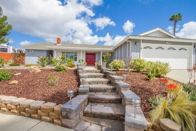 Escondido Single Family Home For Sale: 820 Summerfield Pl