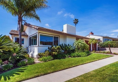 La Jolla Single Family Home For Sale: 5512 Candlelight Drive
