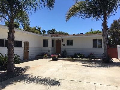 Carlsbad Single Family Home For Sale: 2435 Tuttle Street