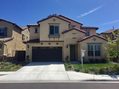 Vista Single Family Home For Sale: 213 Flores Lane