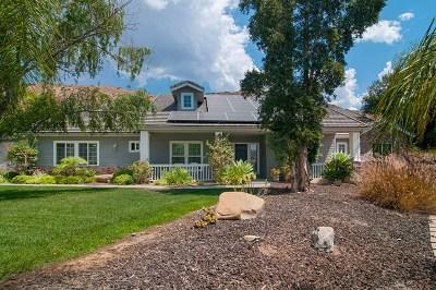 el cajon Single Family Home For Sale: 1022 Matamo Pl